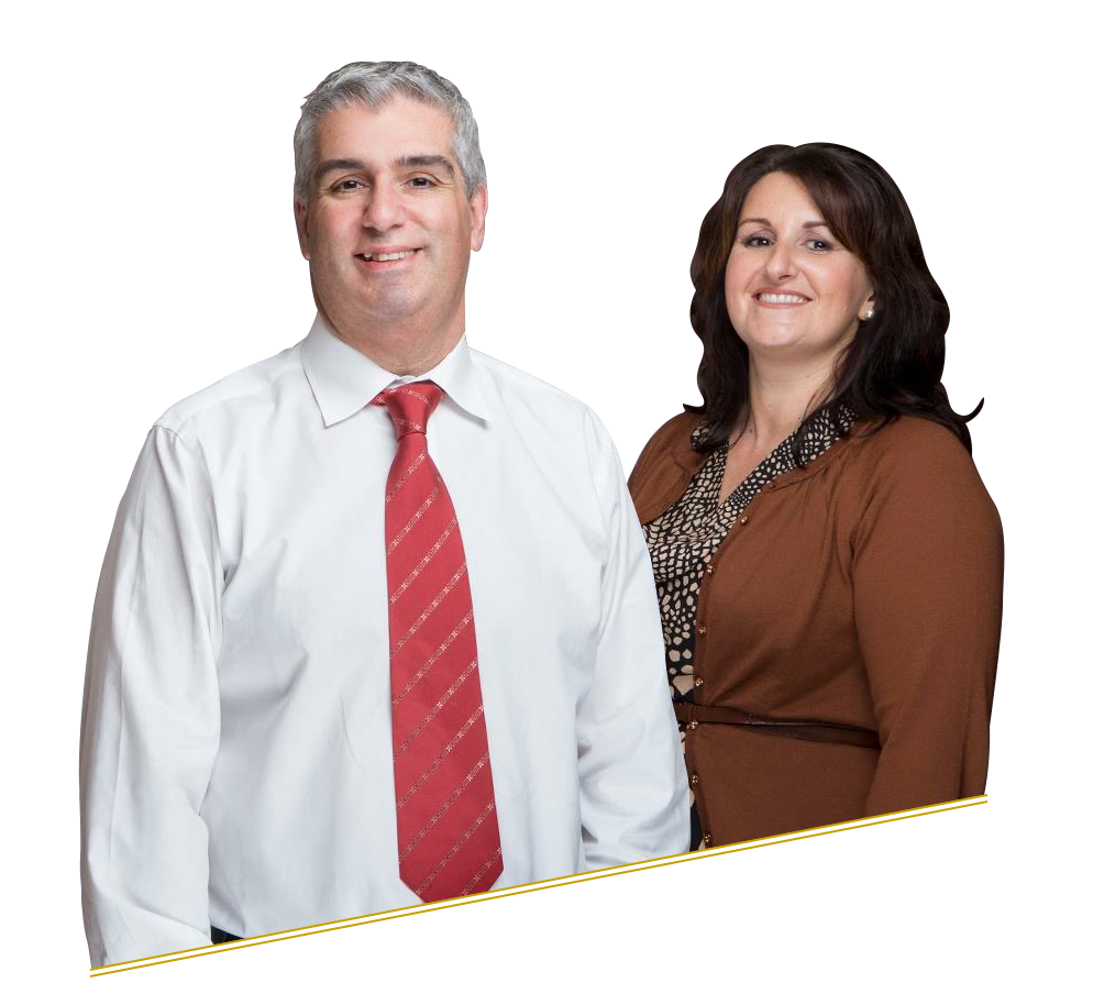 Spiro and Lisa Borg, managers of Spiros