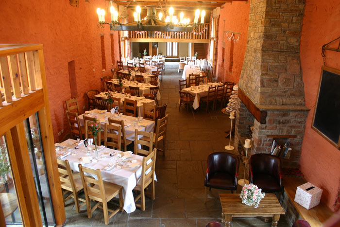 The Barn at Brynich Spiros catering best renovated venues in wales