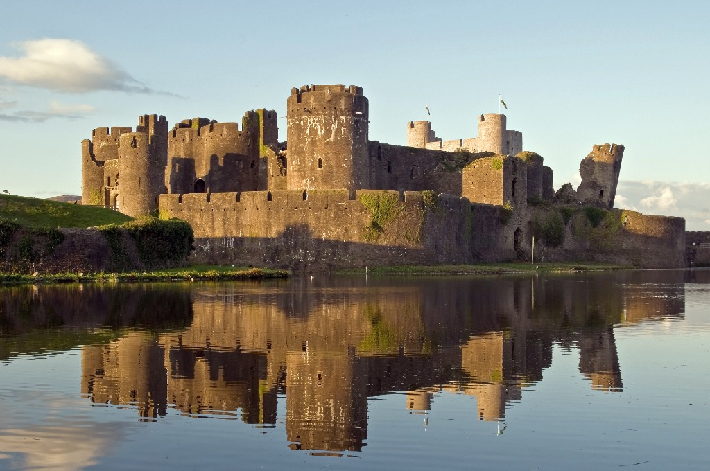 Spiros catering at Caerphilly Castle