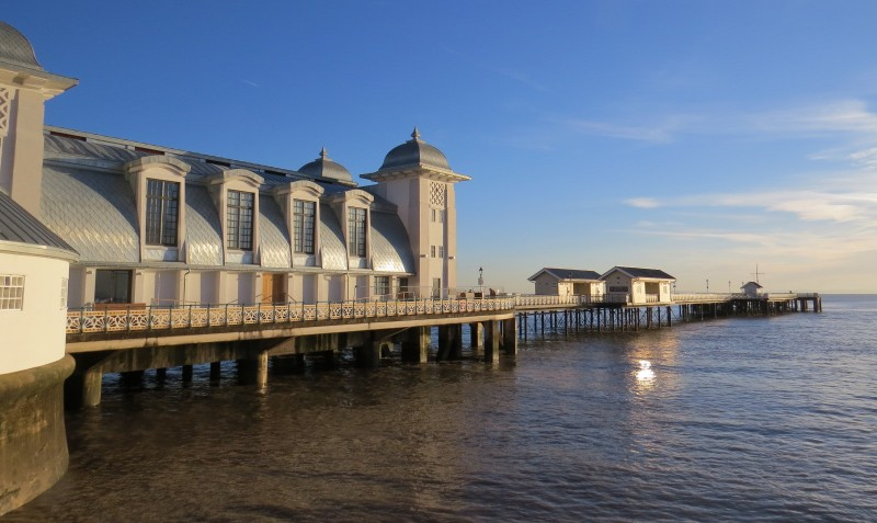 Penarth Pier Pavilion with Spiros catering best renovated venues in wales