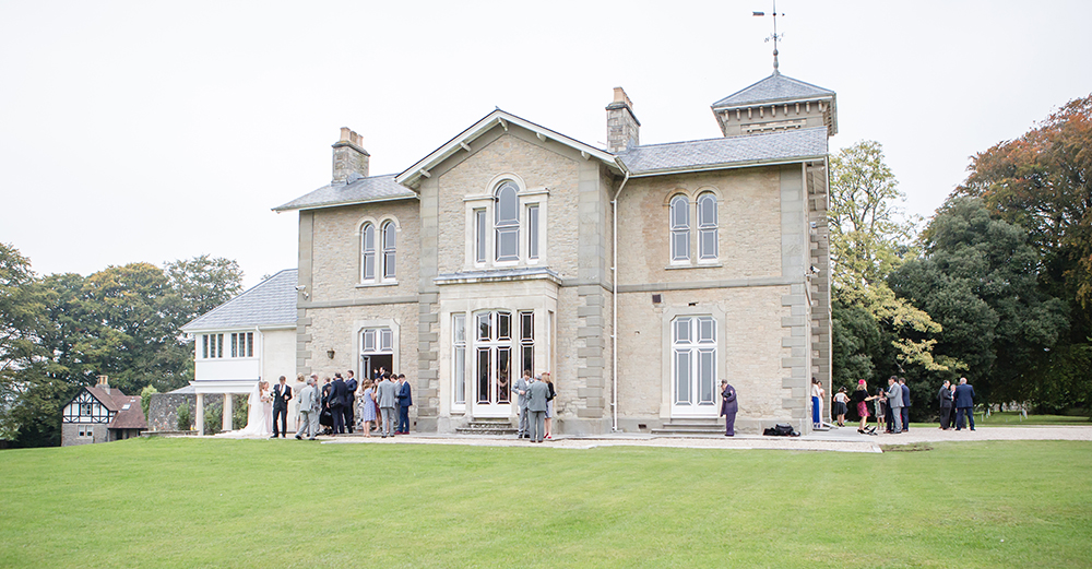 St Tewdrics House, wedding venue on the Severn Estuary with Spiros wedding caterers