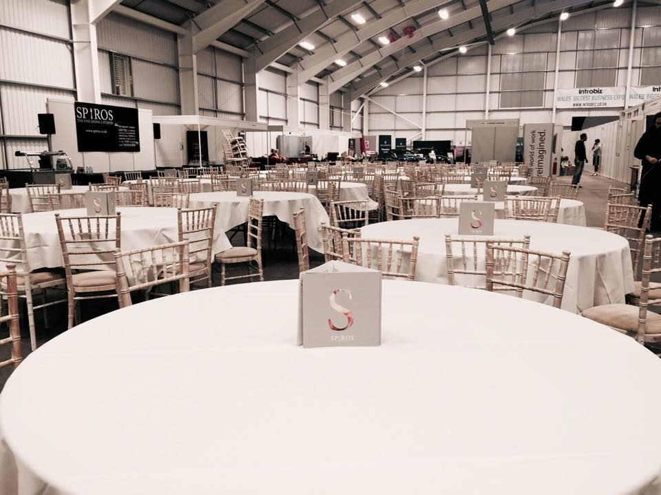 Catering for Introbiz, Wales' Biggest Business Expo