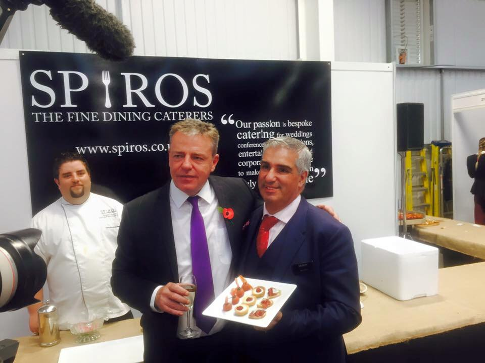 A Nibble & A Natter With Suggs at Introbiz