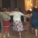 Spiros Greek Night at St Peter's Hall, Cardiff - Greek dancing