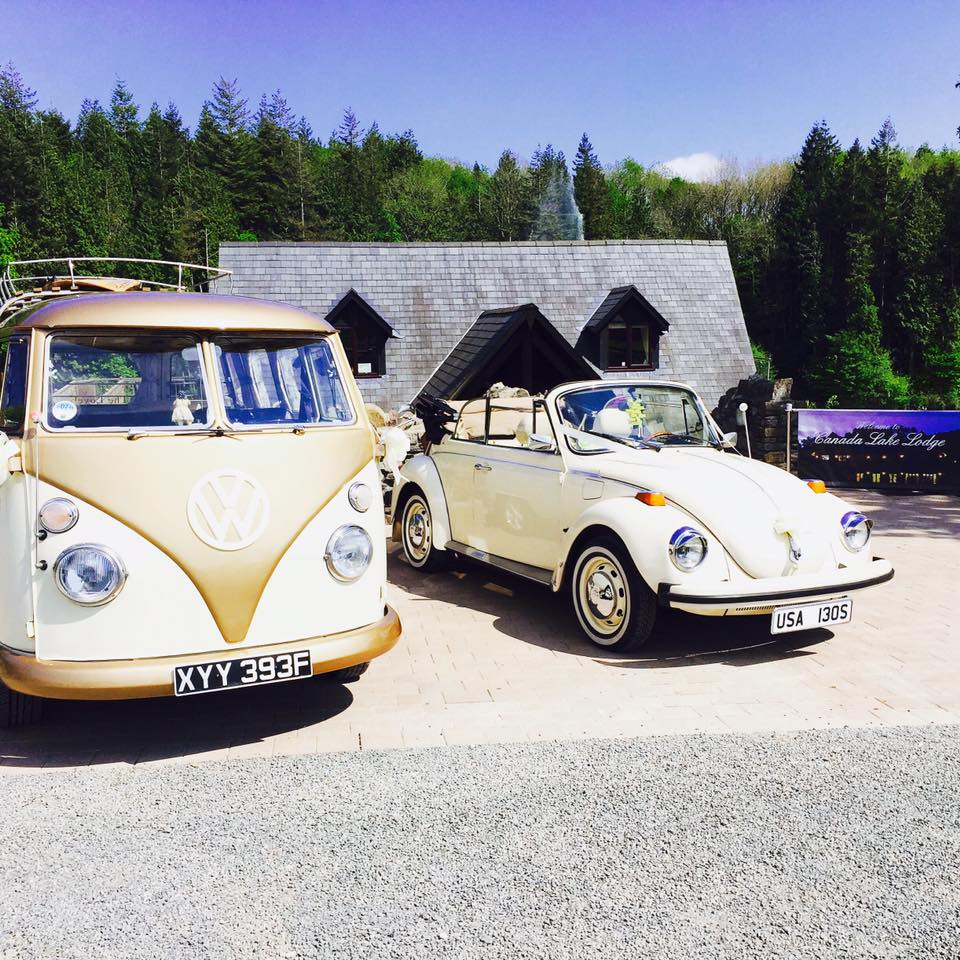 Canada Lodge and Lake VW cars