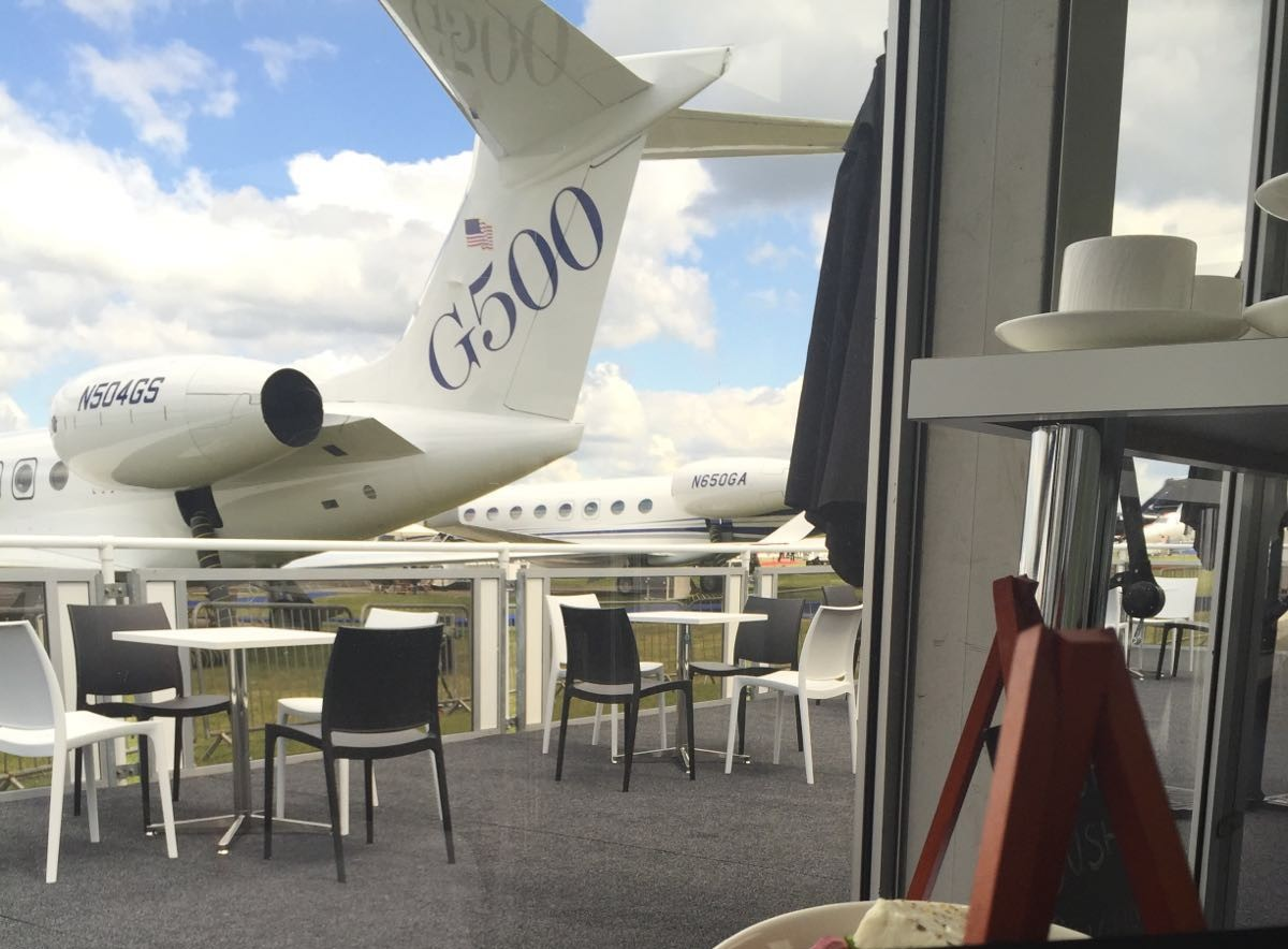 High Flying Corporate Dining at Farnborough Air Show
