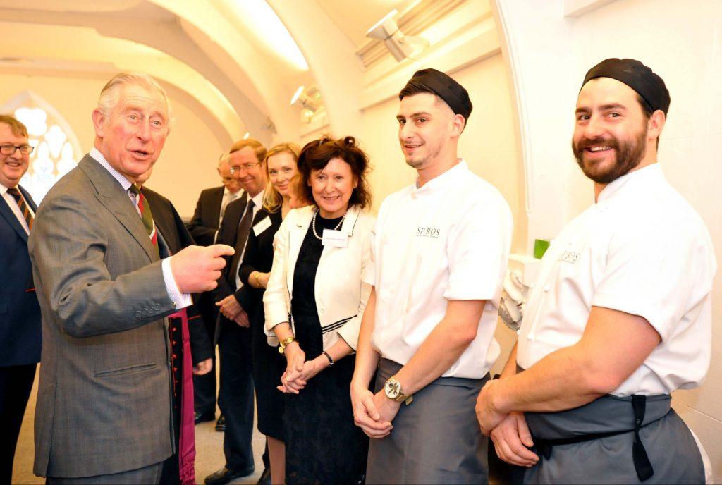 HRH Prince of Wales opens Cornerstone