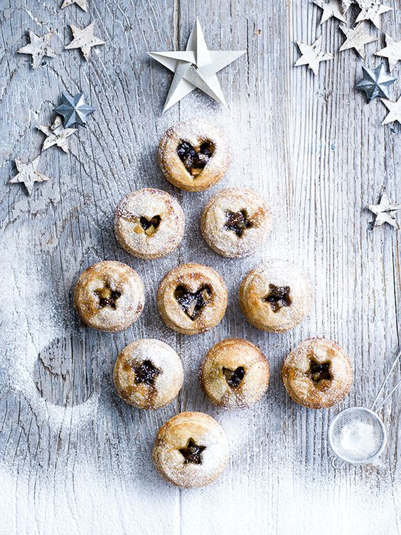 Shortbread mince pies - Christmas recipes