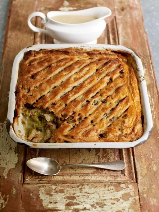 Jamie Oliver's turkey pie - Christmas recipes
