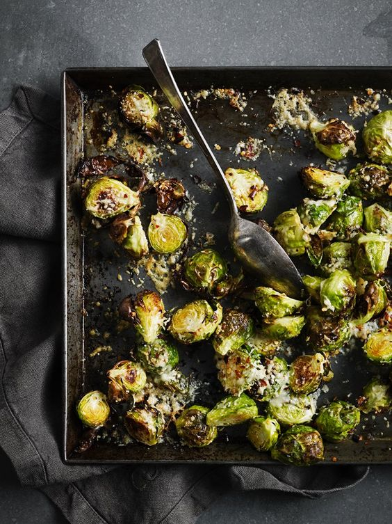 Parmesan brussels sprouts - Christmas recipes