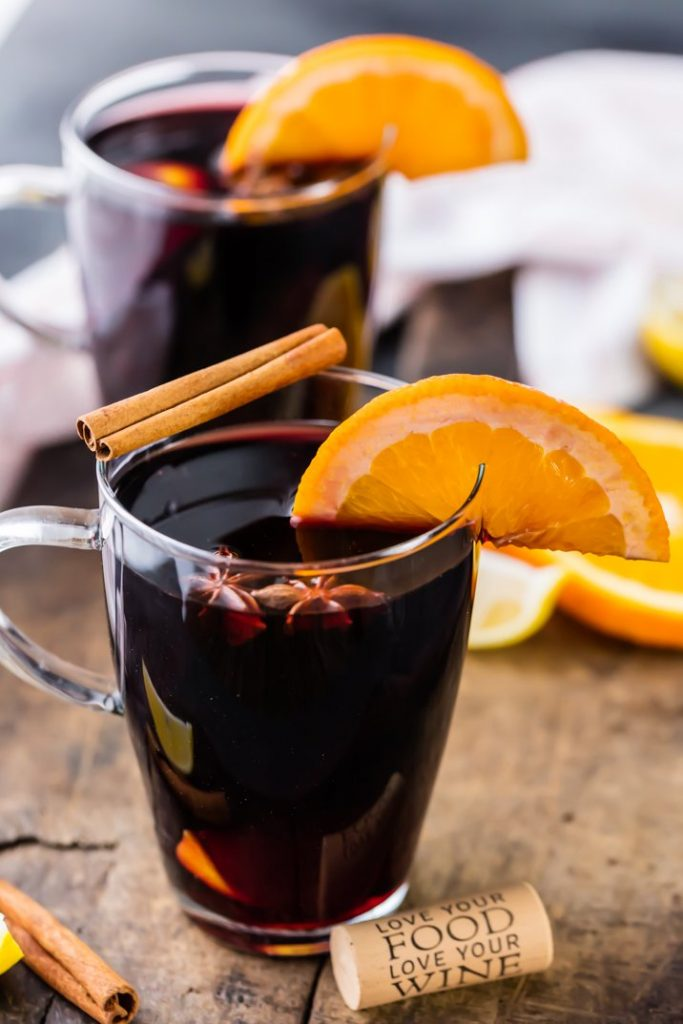 Spiced autumn punch recipe for Bonfire Night