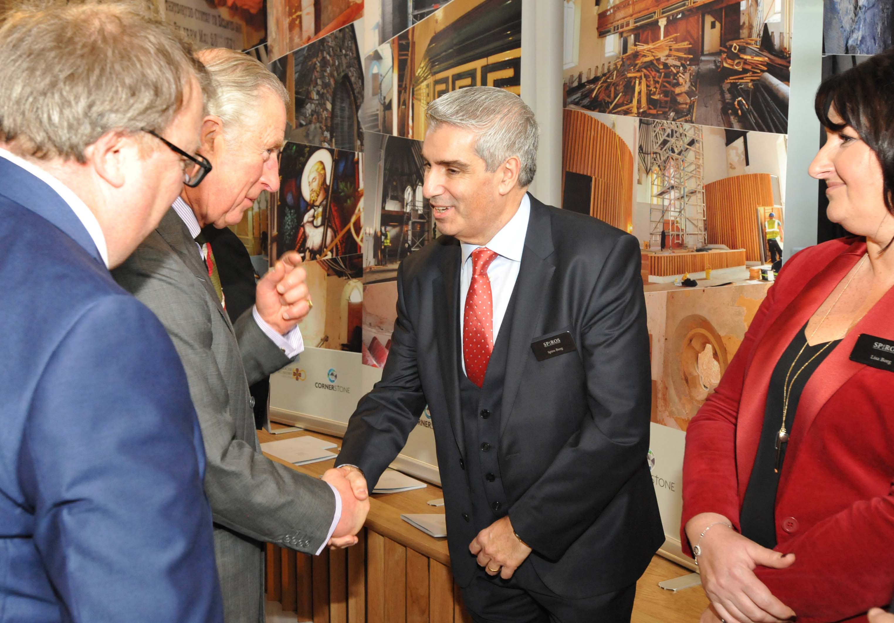 Prince Charles (officially) opens Cornerstone Cardiff!