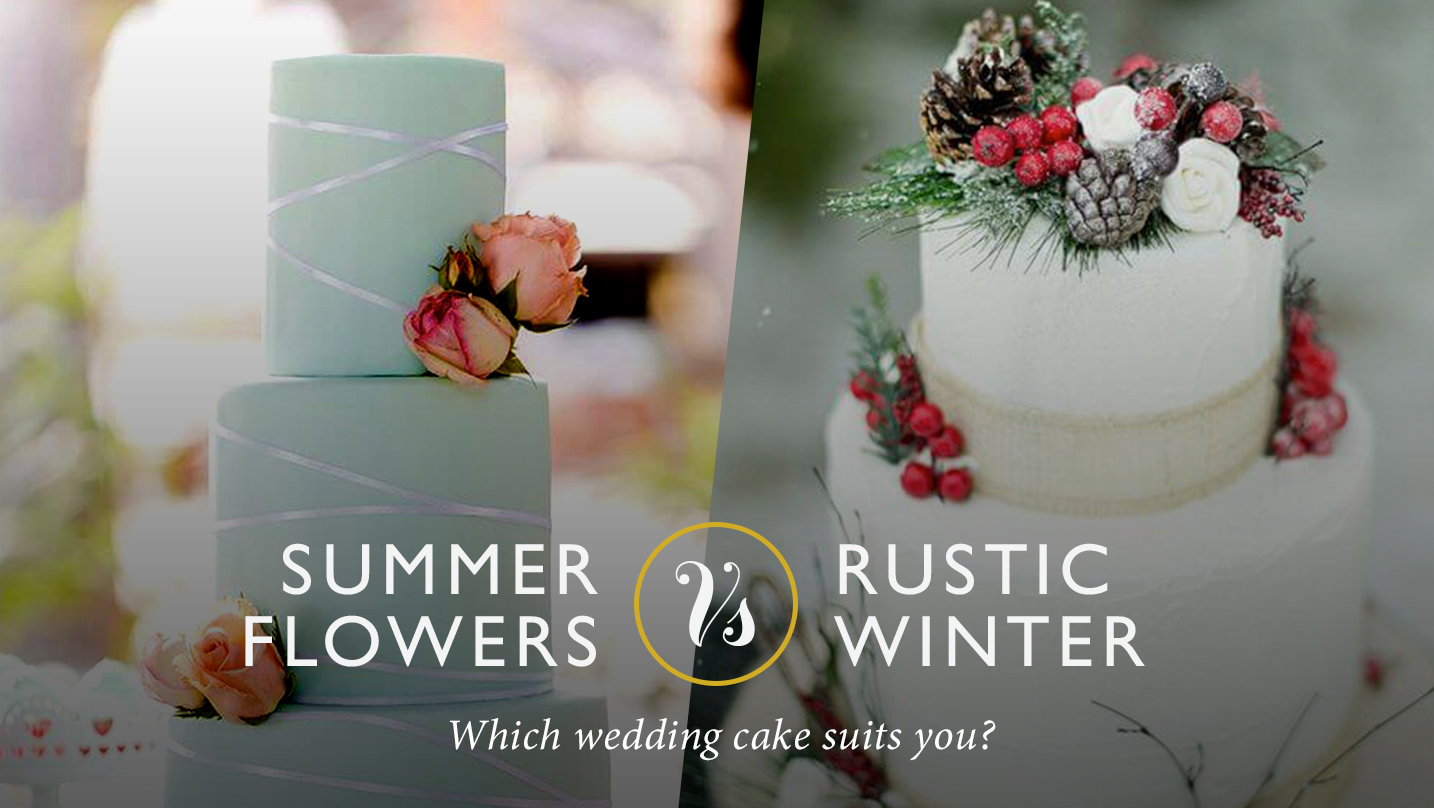 CAKE OFF: summer VS winter