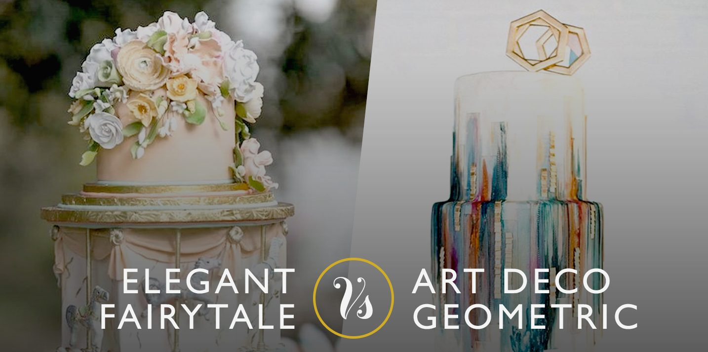 CAKE OFF: fairytale VS art deco