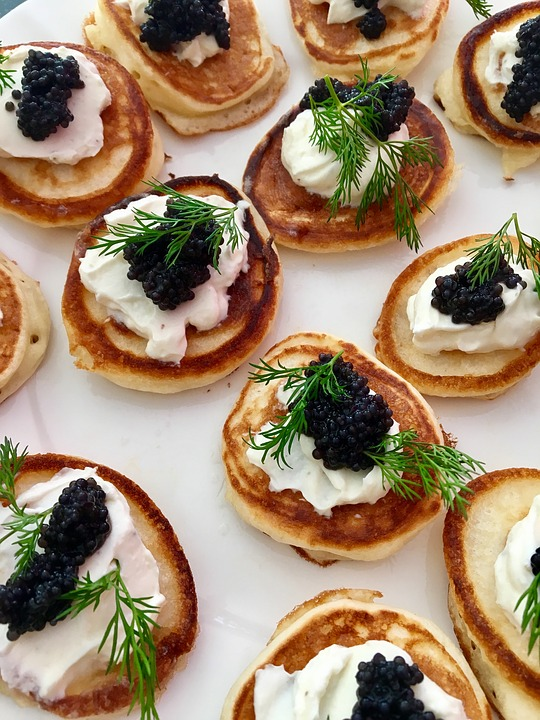 Red Potatoes and Caviar - 15 Unique Wedding Food Ideas by Spiros