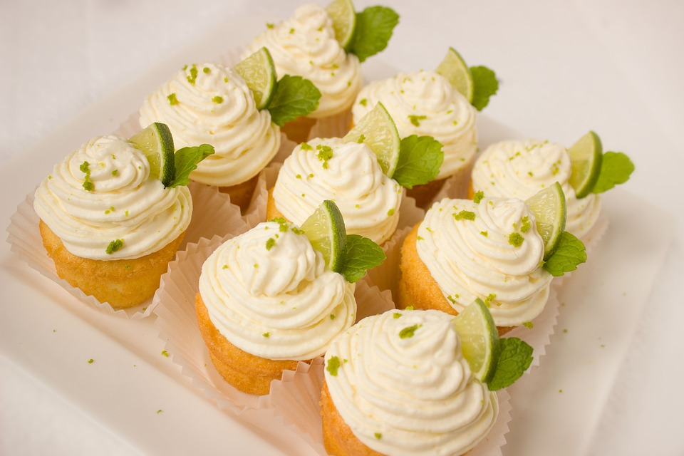 Coconut Lime Cupcakes - 15 Unique Wedding Food Ideas by Spiros