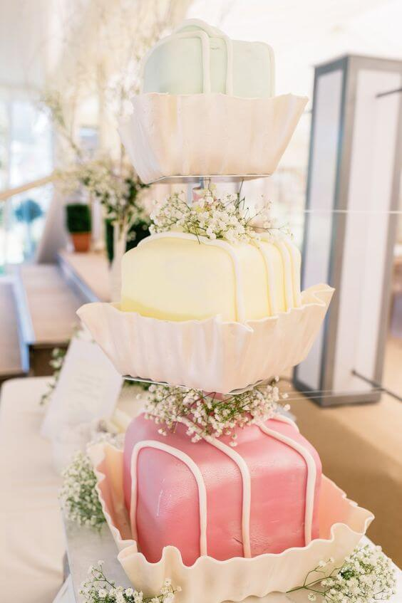Spiros - unusual wedding cake ideas - luxury cakes