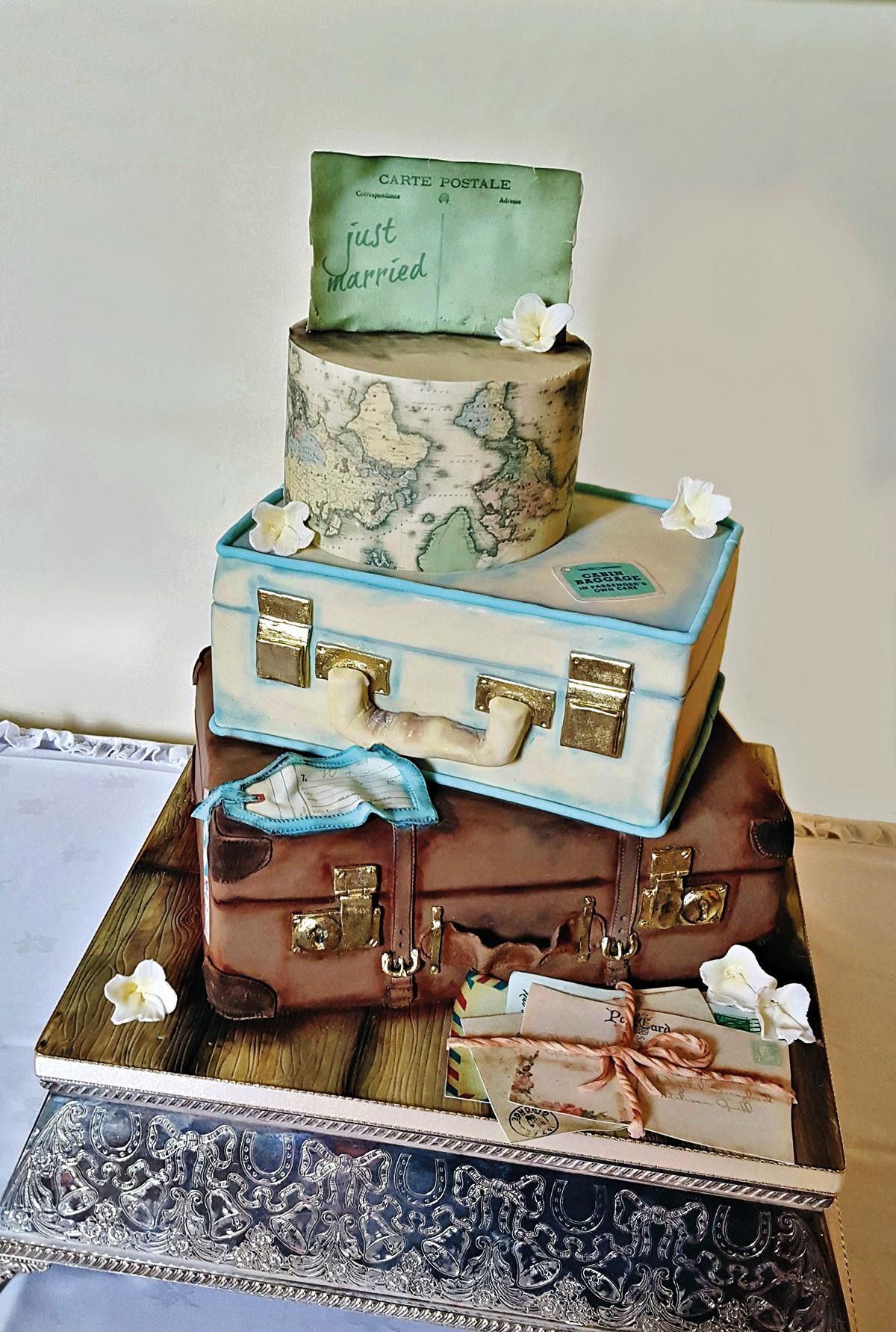 Spiros - wedding cake ideas - personalised theme cakes