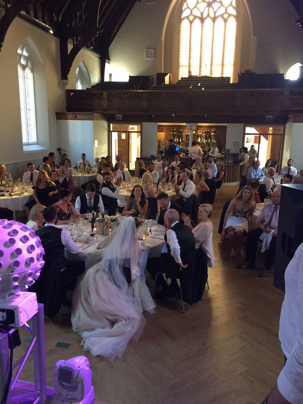 Cardiff city centre wedding in Cornerstone, hosted and catered by Spiros