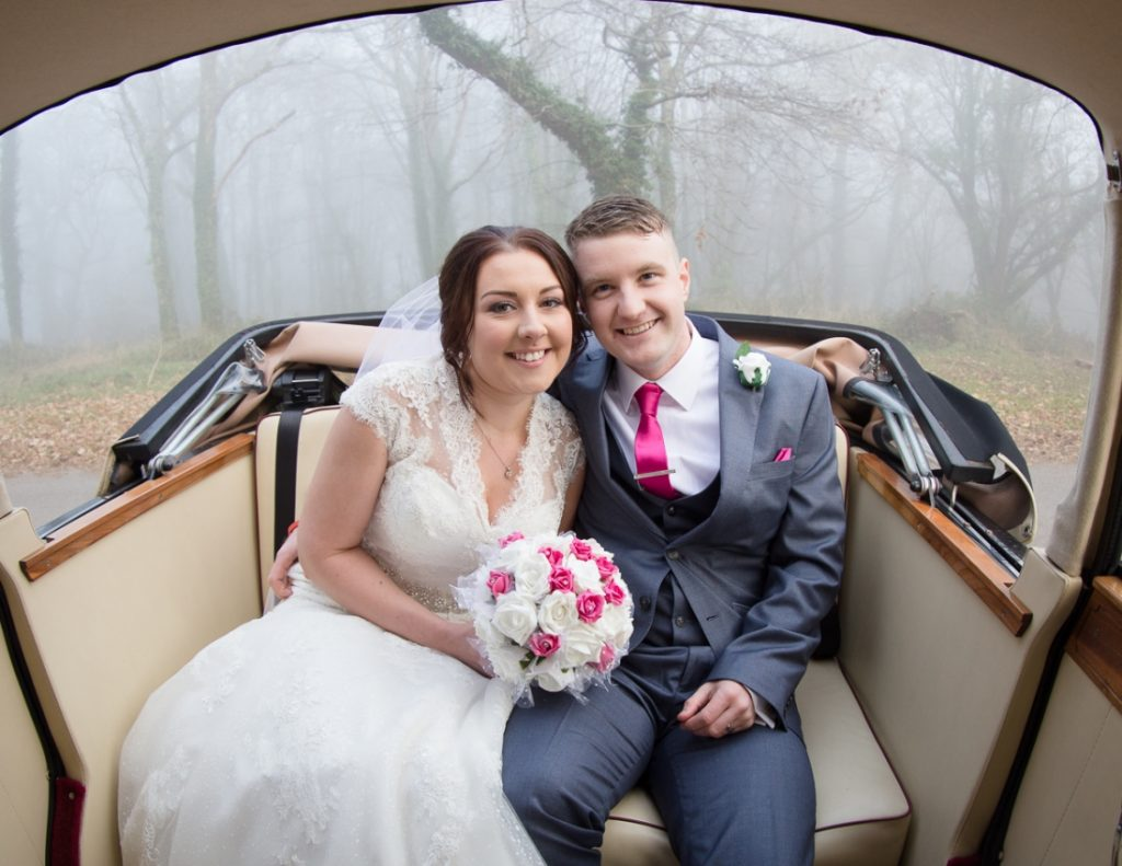 Cottrell Park Golf Resort wedding - carriage ride