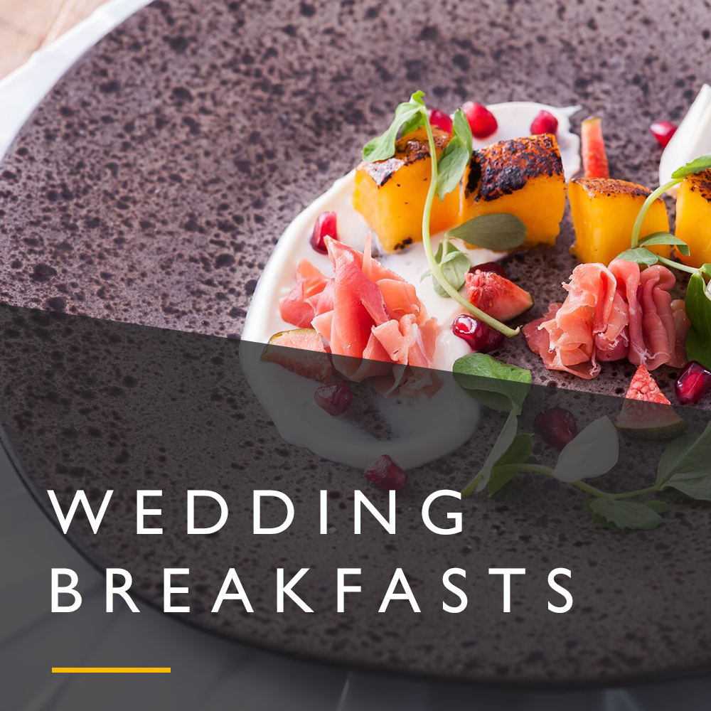 Wedding breakfasts menu from Spiros