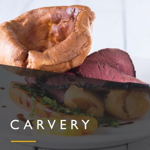 Carvery wedding menu from Spiros