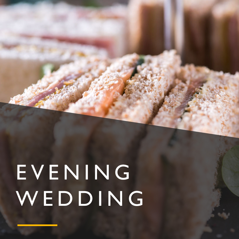 Evening Wedding Menu from Spiros