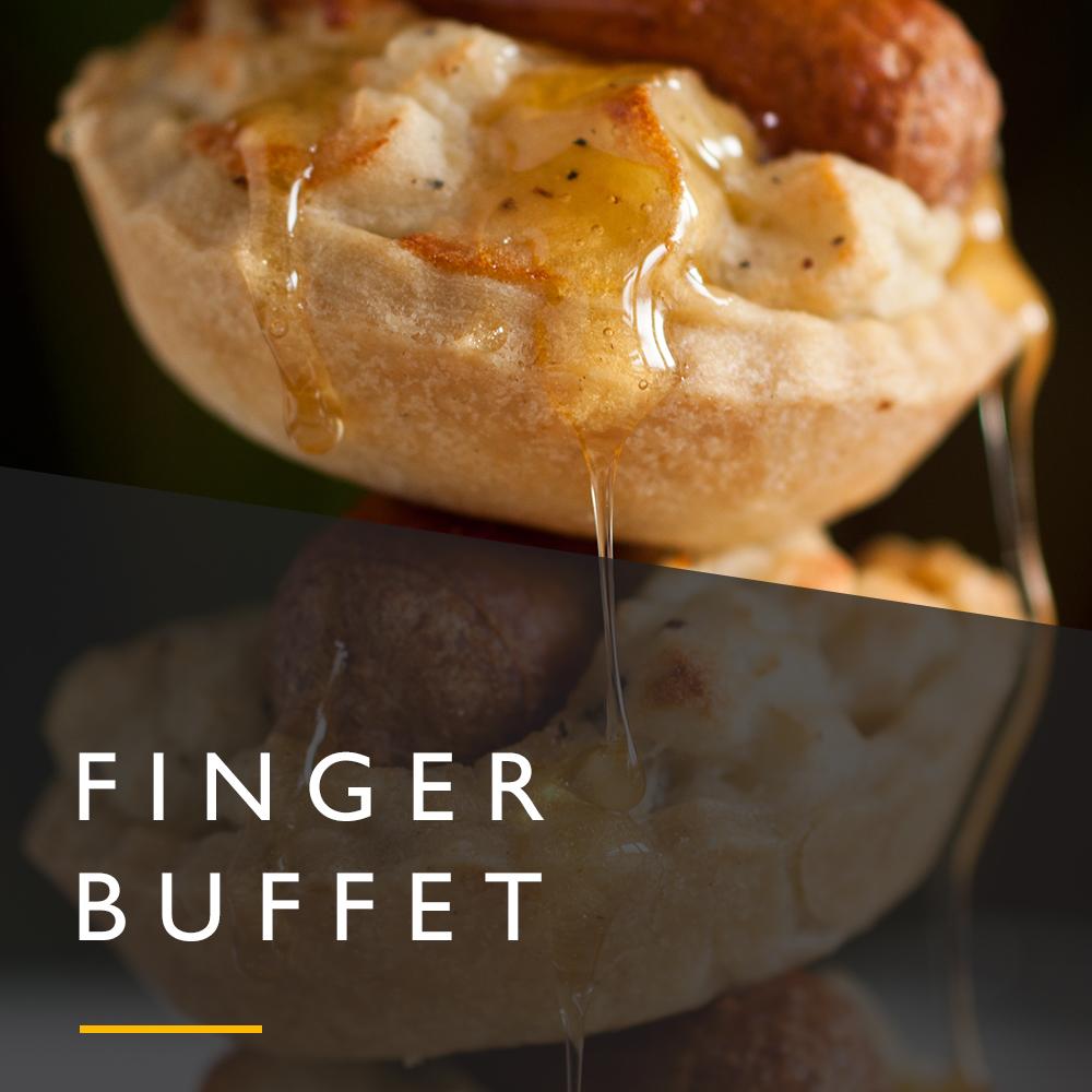 Finger buffet wedding menu from Spiros