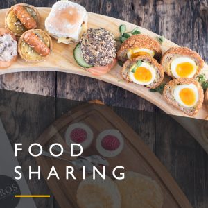 Food Sharing Platters Menu
