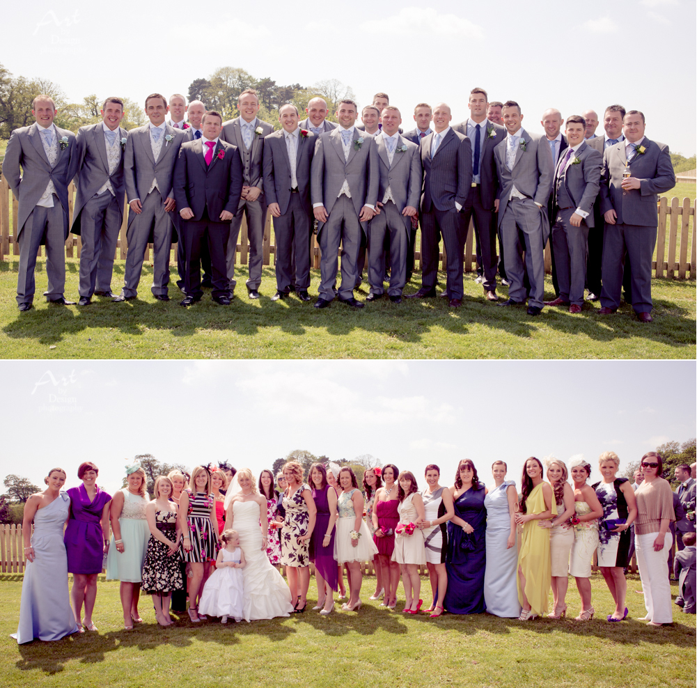 Cottrell Park Golf Resort - bridesmaids and groomsmen at a wedding