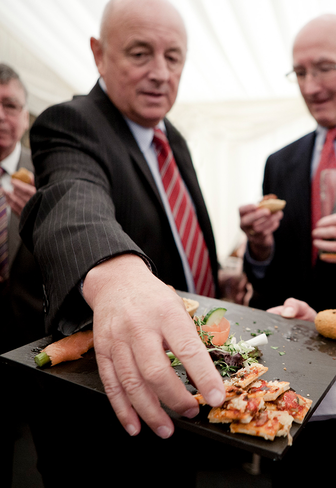 spiros professional event catering canapes