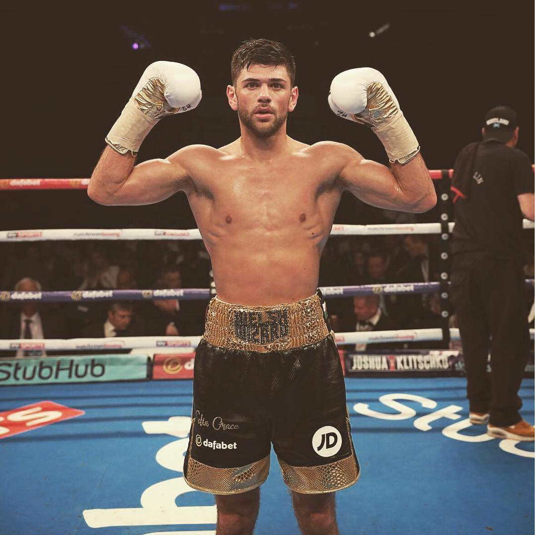 Spiros Sponsors Joe Cordina Welsh Wizard