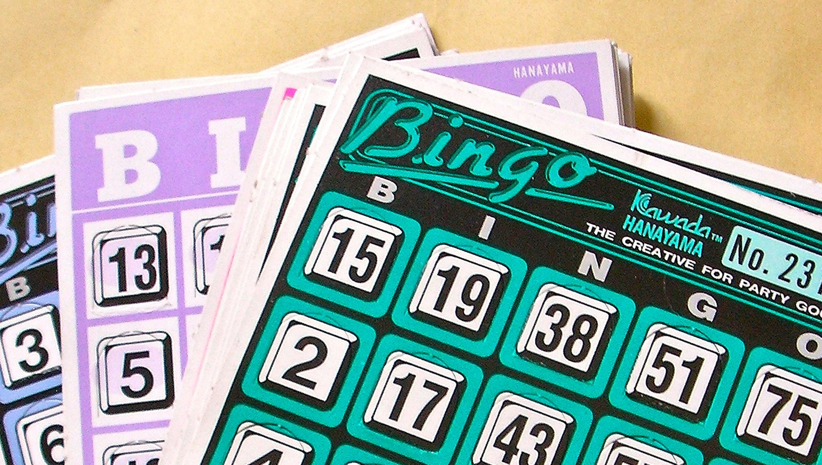 bingo st peter's hall