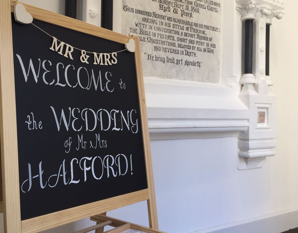 Here's what a Cardiff city centre wedding at Cornerstone looks like