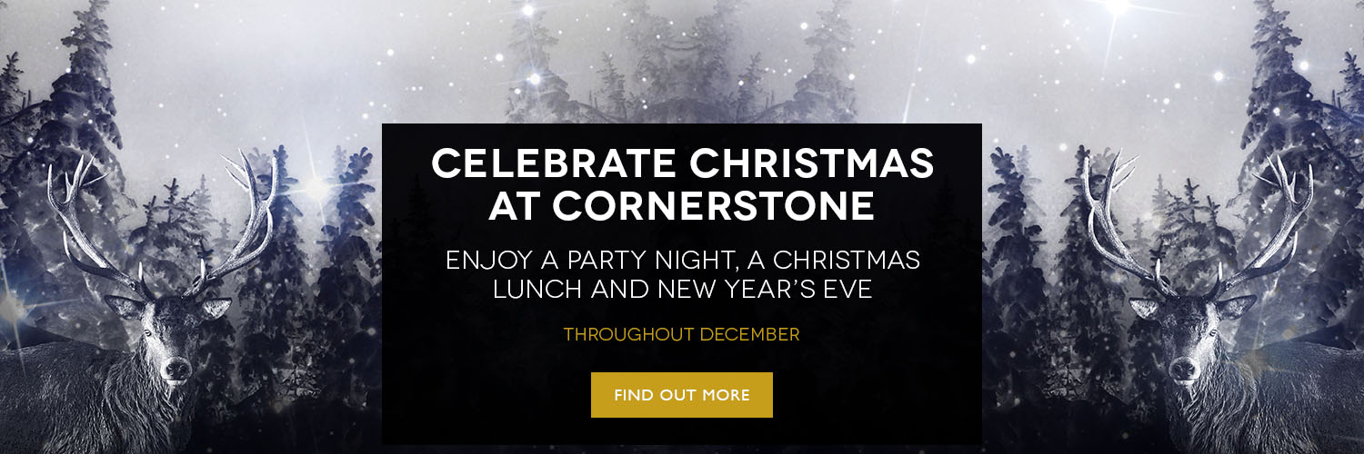 Celebrate Christmas at Cornerstone Cardiff with Spiros