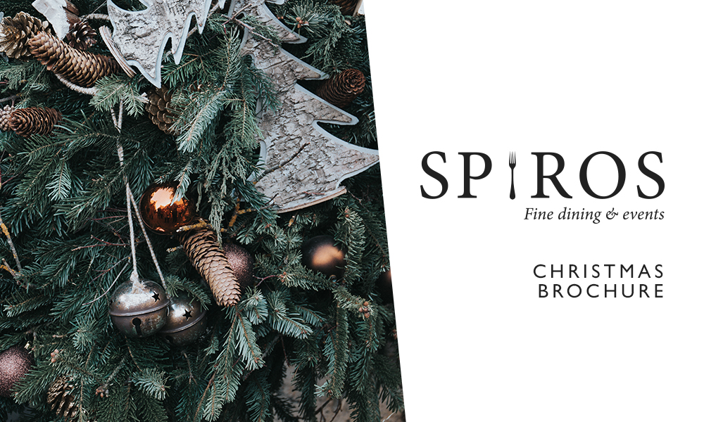 Spiros brochure for Christmas 2017