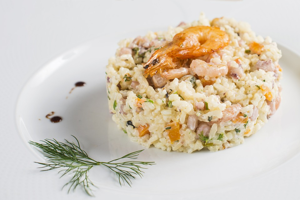 Easy back-to-school recipes from Spiros - prawn risotto