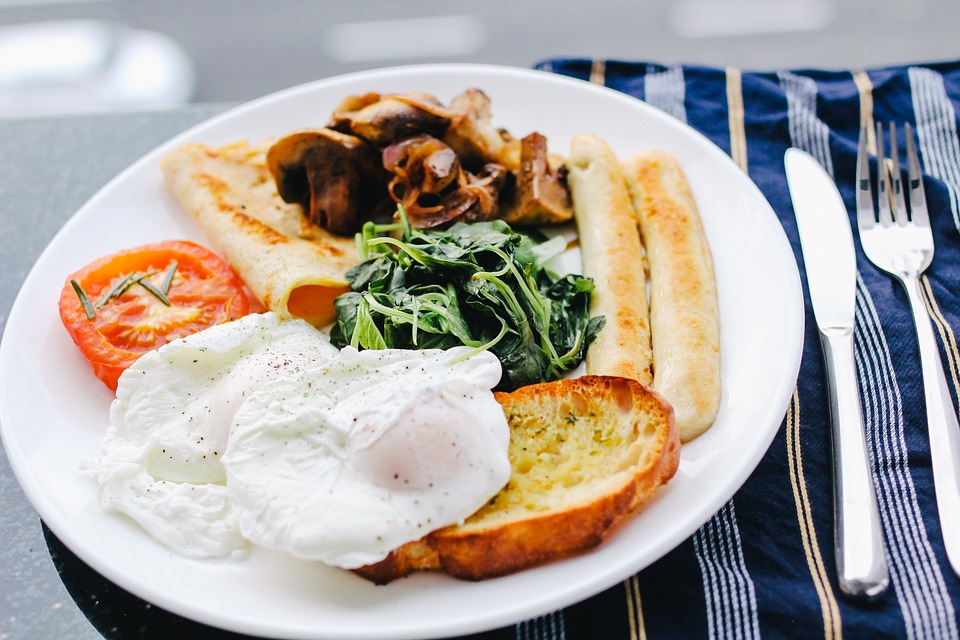 Traditional English Breakfast - Food Ideas For Athletes & Gym Addicts From Spiros