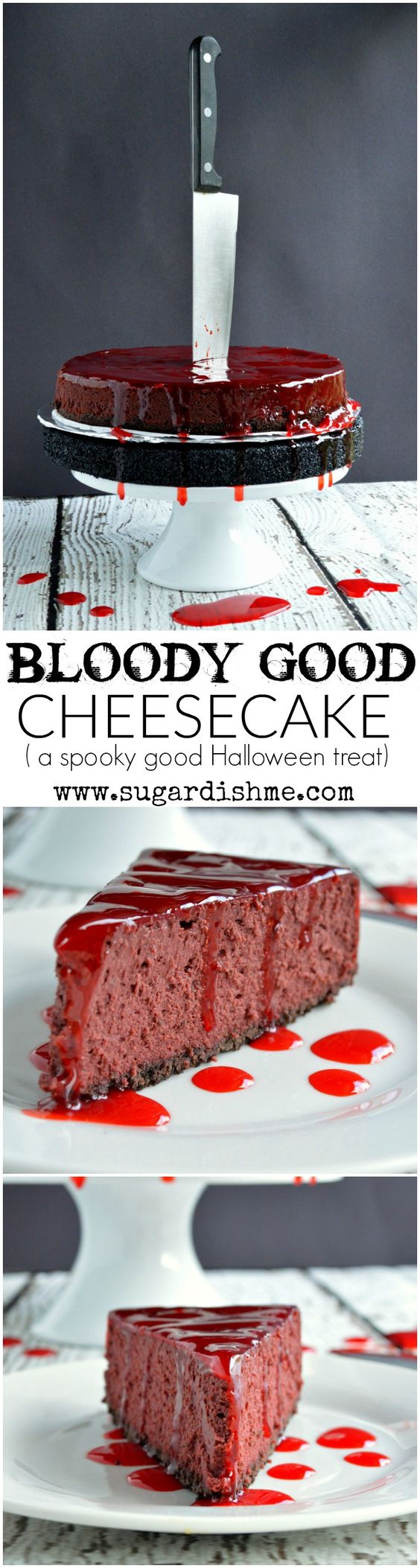 Bloody Good Cheesecake Halloween Food Tutorial - Spiros