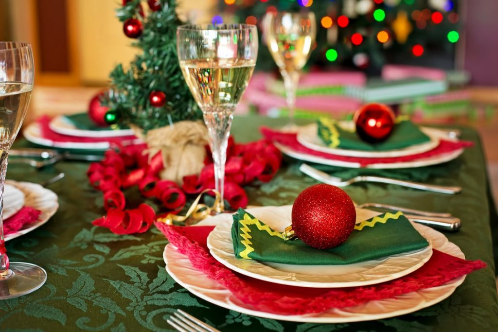 Spiros Christmas party checklist - table