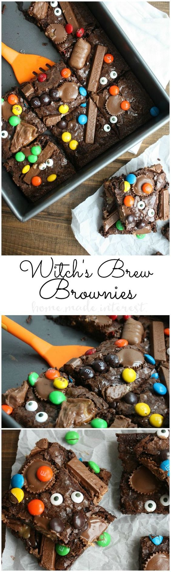 Witch's Brew Brownies Halloween Food Tutorial - Spiros