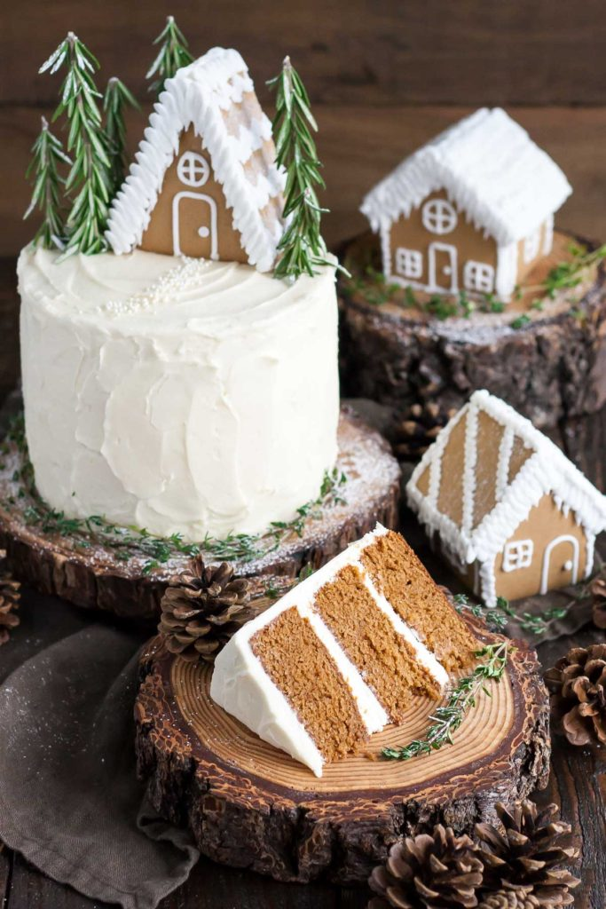 10 tasty alternatives to Christmas pudding - Gingerbread House Cake