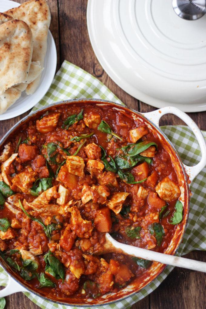 Christmas leftover recipes - turkey curry