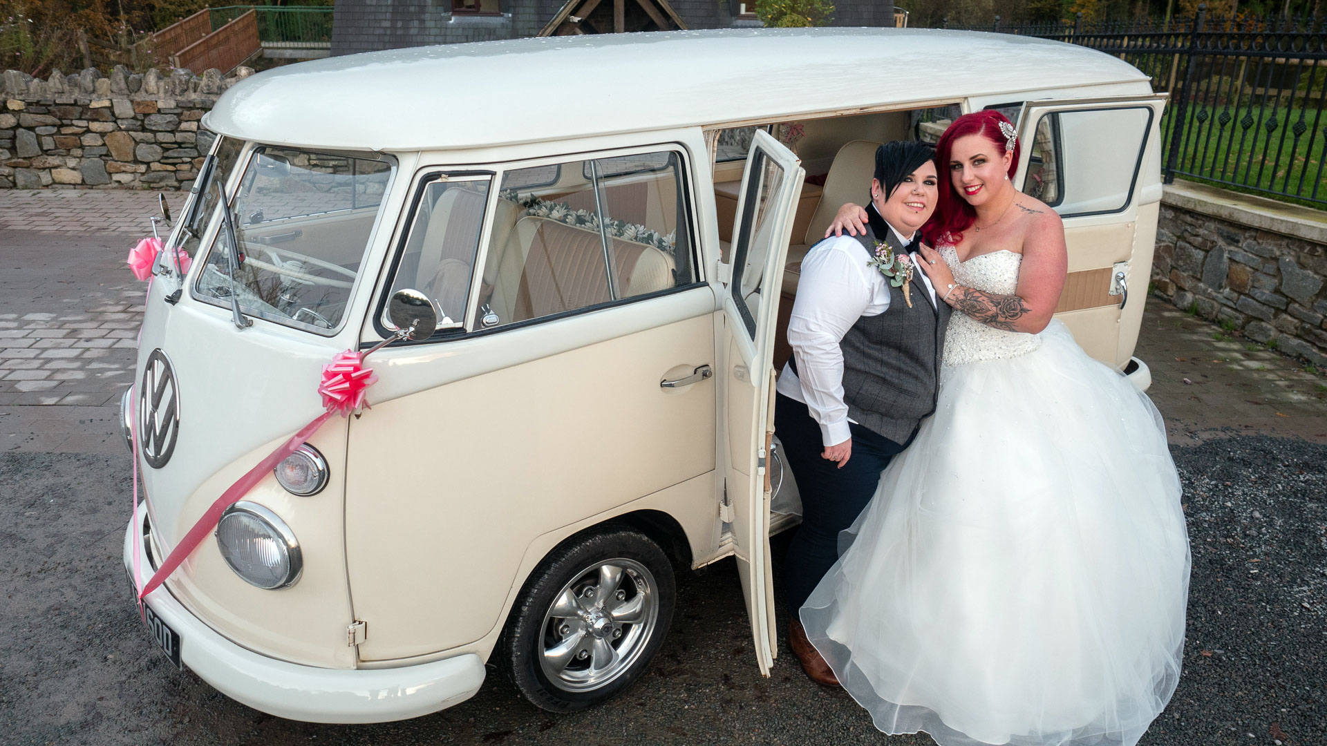 Did you spot the Spiros wedding on S4C?