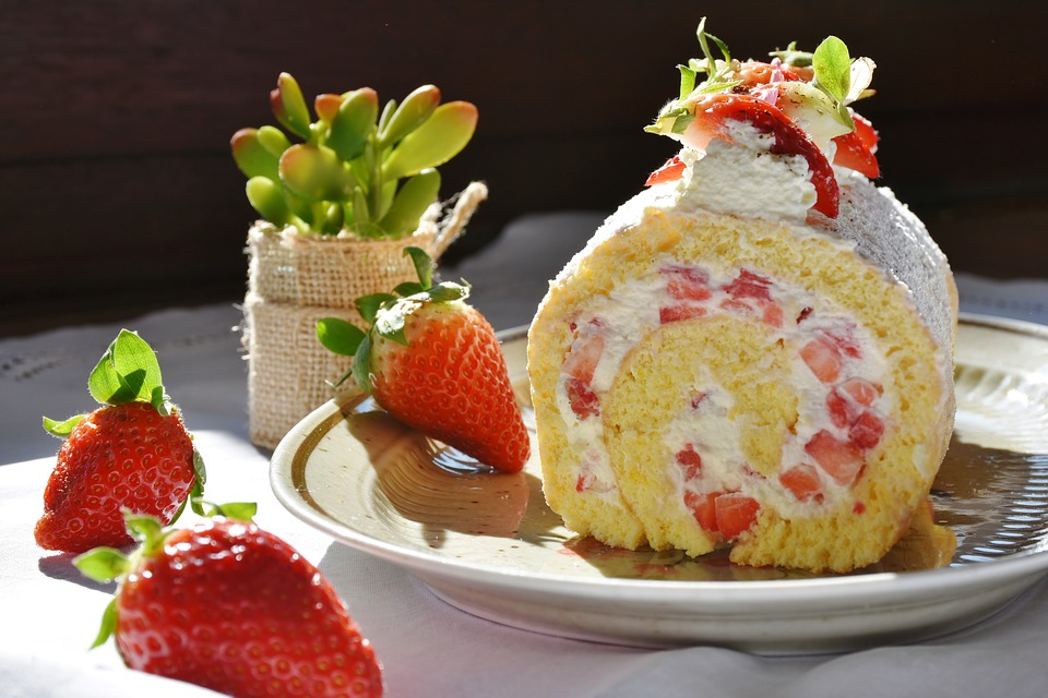 Swiss roll - Mother's Day recipe