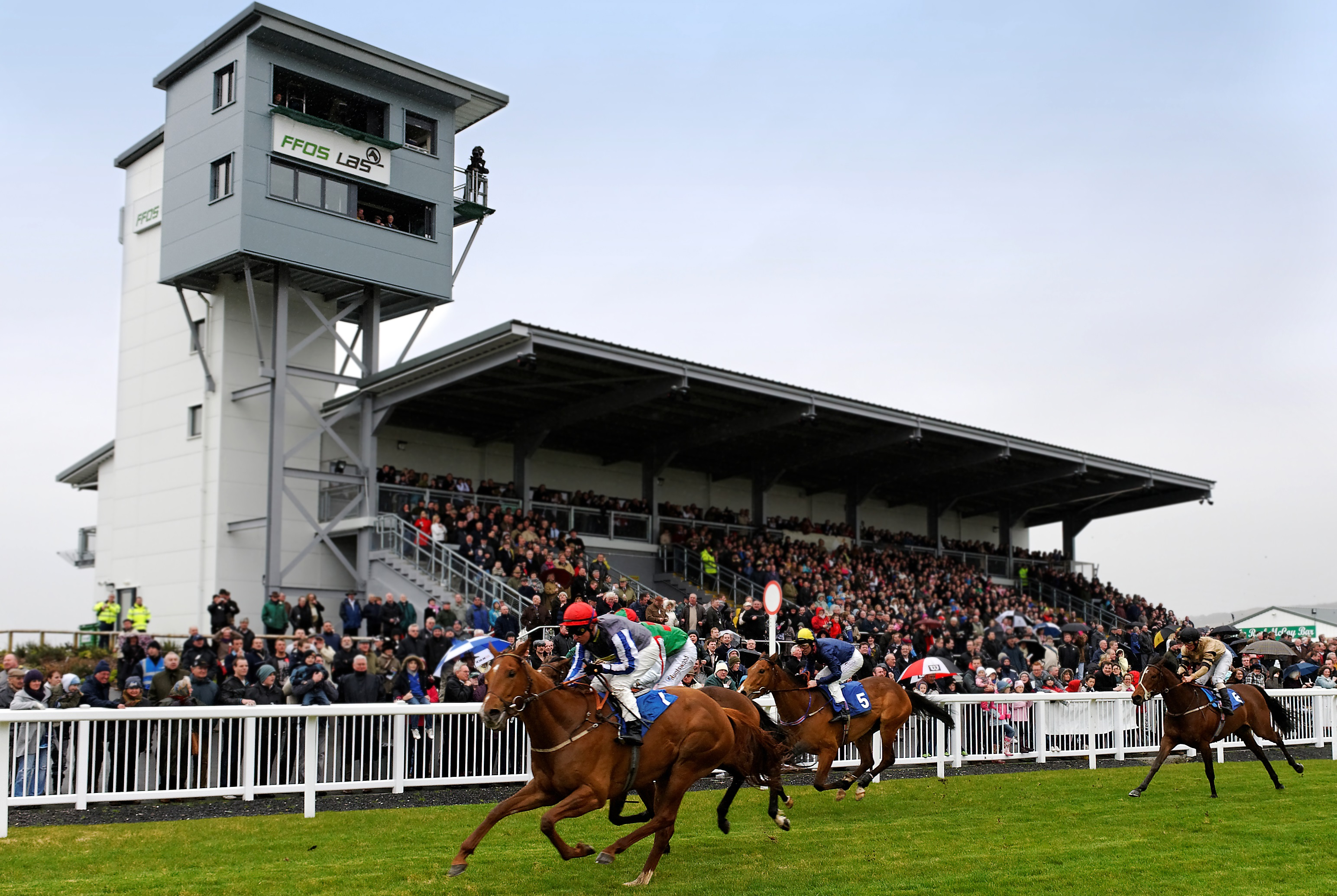 Ffos Las Racecourse venue partnership with Spiros