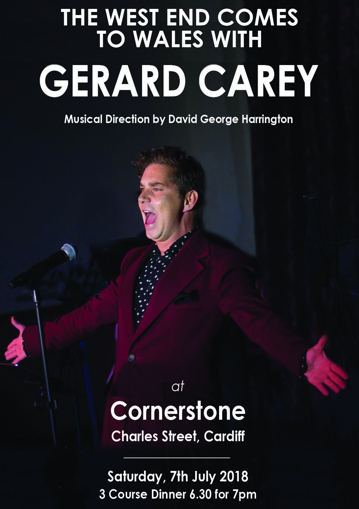 Gerard Carey at Cornerstone Cardiff in July 2018