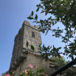 The church tower for wedding ceremonies