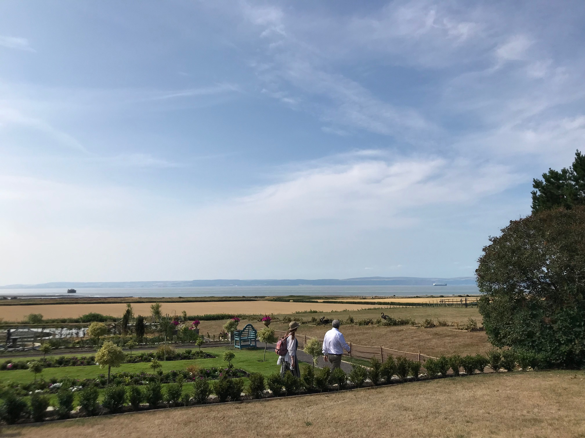 Gileston Manor gardens overlooking the sea - Spiros Fine Dining & Events