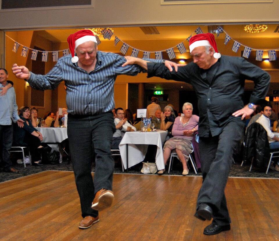 Christmas Greek Party Night with Spiros in Cardiff, December 2018